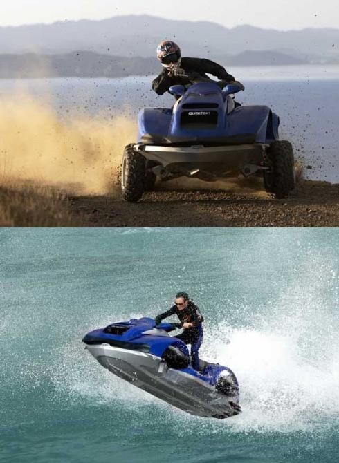 quad bike that converts to jet ski in five seconds i want this cars motorcycles that i. Black Bedroom Furniture Sets. Home Design Ideas