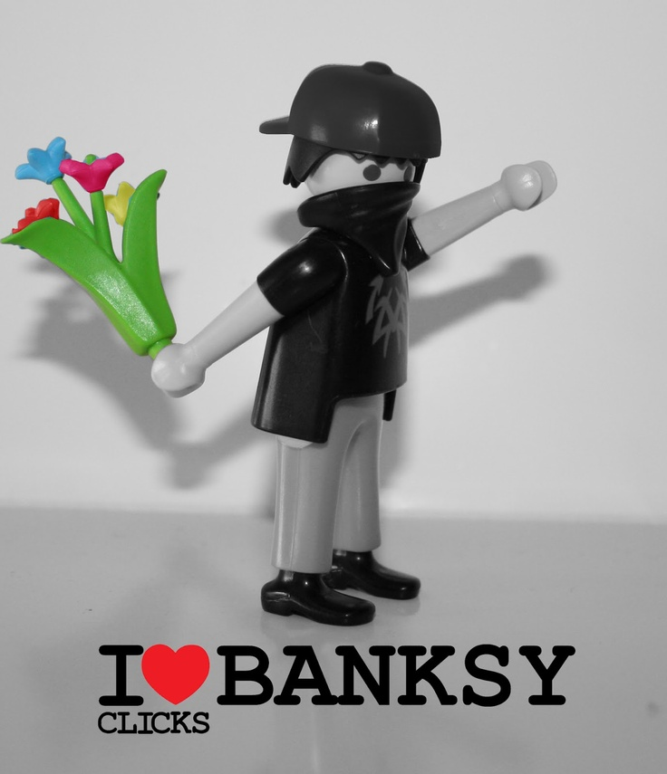 Bansky I Love Clicks Playmobil