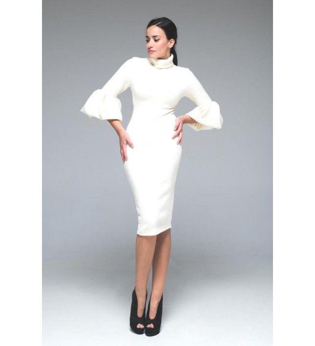 Midi Forema # Sleeveless dress #dress #midi #bandagedresses #maxidress #white #whitedress #shopping