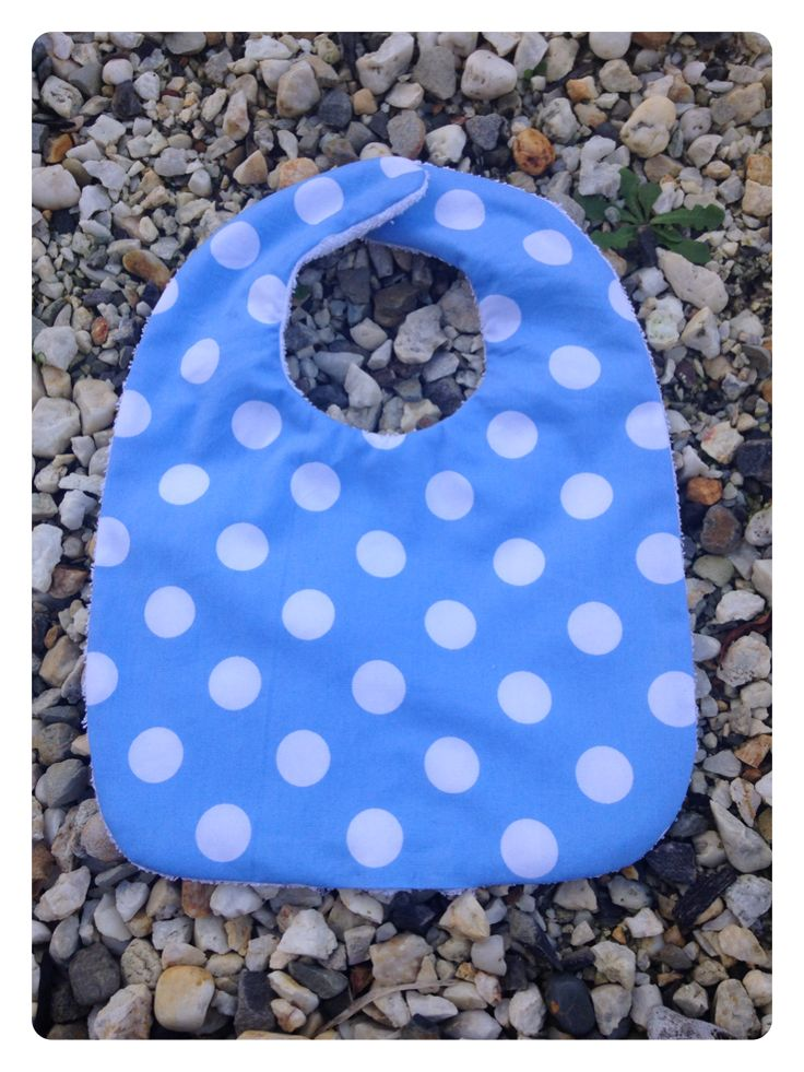 Blue Spots. Cotton Front and Back. $3 1 in Stock.