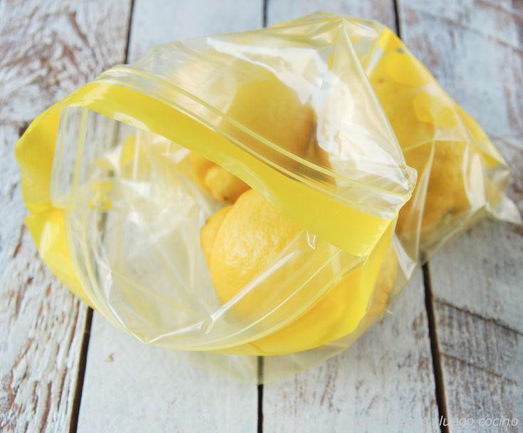 Truco para conservar mejor los limones