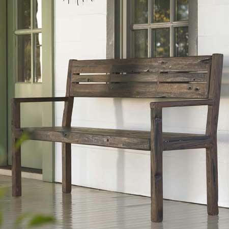 ship wood furniture. outdoors ship wood bench furniture