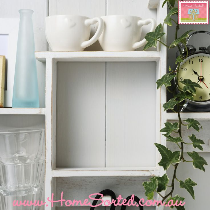 Keep a boxed shelf spare to offer you flexibility and variety in your newly decorated home.