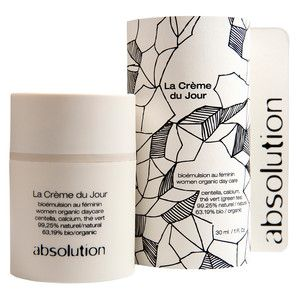 Beautiful packaging on this organic skin care line...La Crème Du Jour, $59, now featured on Fab.