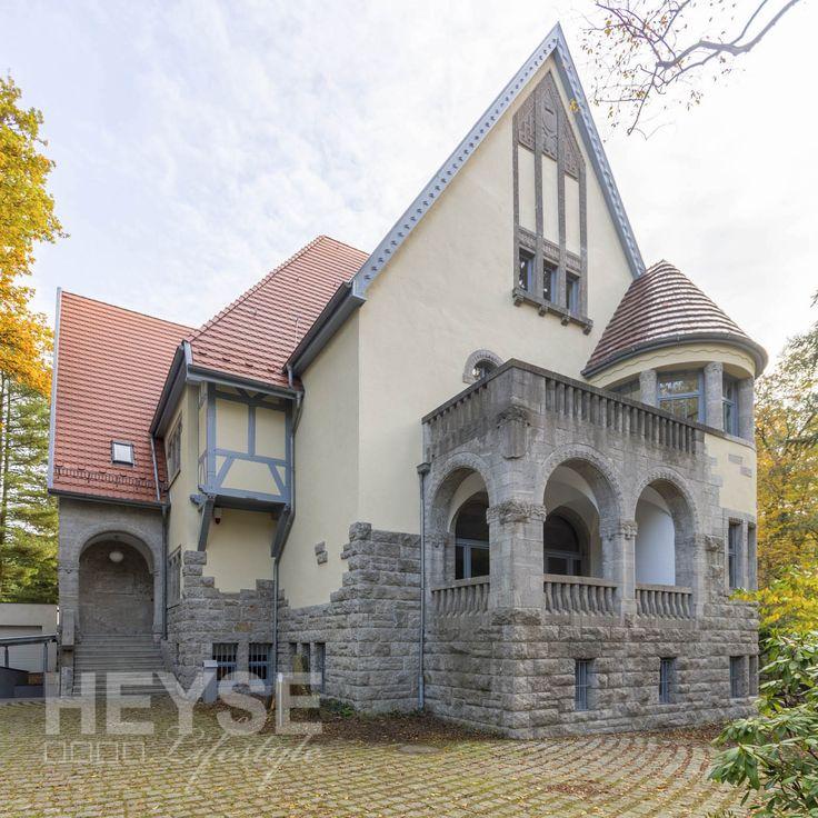 Villa Haase   #Denkmalschutz #Fassade   #Anstrich #Hannover #HugoHaase  #VillaHaase