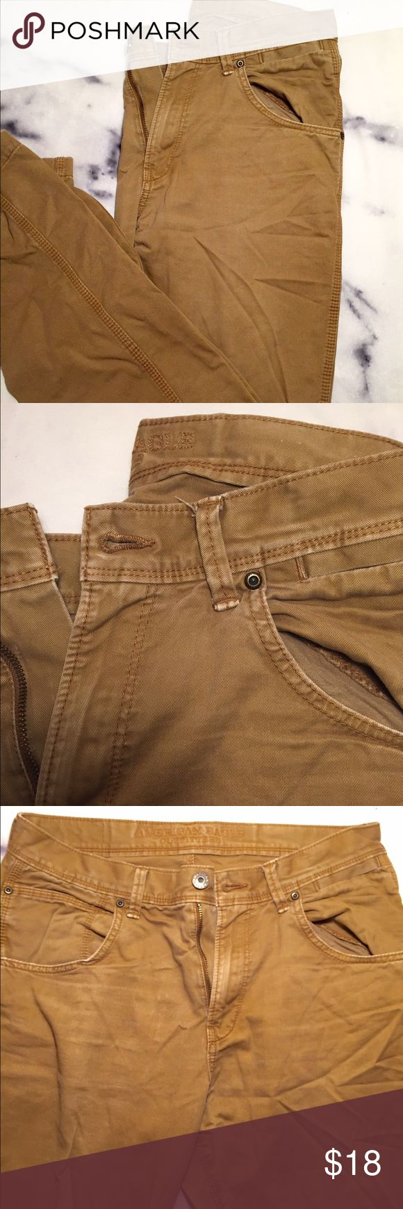 Men's 32/34 American Eagle Outfitters pants. Men's 32/34 American Eagle Outfitters pants. Worn maybe 12-15 times. American Eagle Outfitters Pants Chinos & Khakis