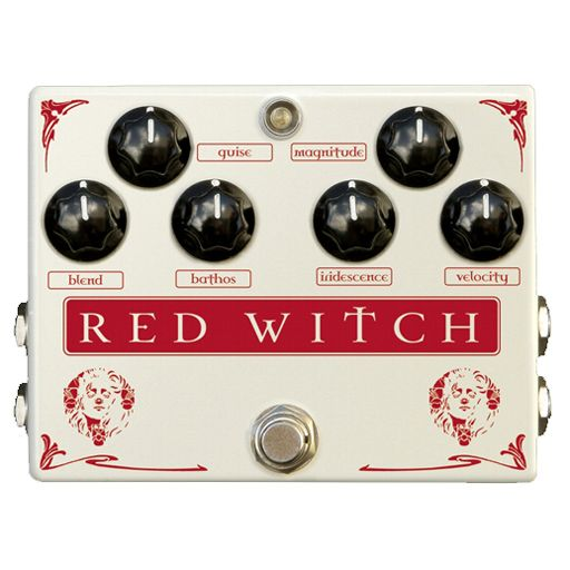 Red Witch Medusa Chorus and Tremolo Effect Pedal