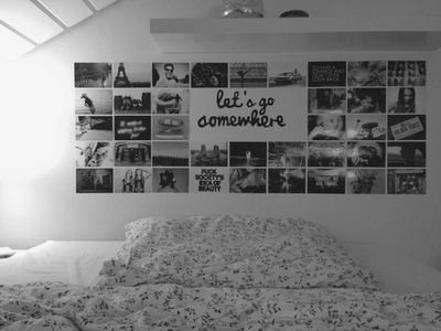 I like this on the wall and you could really put it anywhere including a photo book