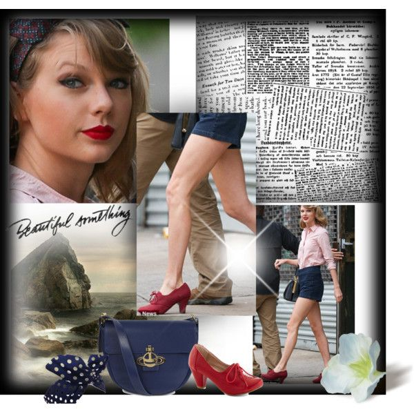 """""""What Taylor Swift Wore: Those Red Shoes"""" by cutecurations on Polyvore"""