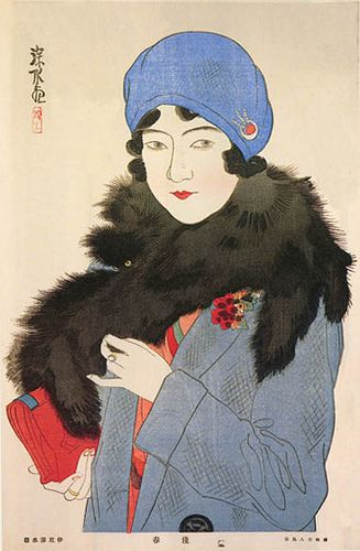 Ito Shinsui, In Early Spring, 1930 by Gatochy, via Flickr