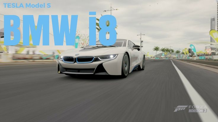 Forza Horizon 3 | BMW i8 & TESLA MODEL S (Ludicrous mode)
