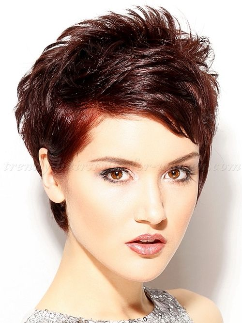 Short Hairstyles For 2015 Adorable 244 Best Short Hairstyles For Thin Hair Images On Pinterest  Pixie