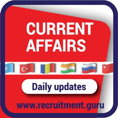 Latest Current Affairs for Competitive Exams from Experts. Daily Current Affairs 2017 | Current Affairs Quiz Questions. Today Current Events.