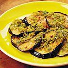 Een heerlijk recept: Aubergines met Arabische pesto