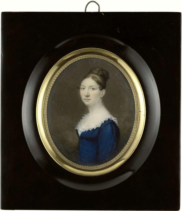 Suzanna de Roth (1789-1822), echtgenote van Jonkheer Isaäc Pierre Graafland (1789-1825), raadsheer in het hooggerechtshof van Suriname, anoniem, ca. 1820