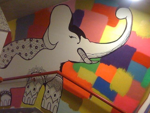graffiti by Natália Wella, via Flickr