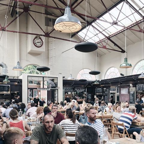 Altrincham Food Market - Greater Manchester.     #foodmarkets #europe #greatermanchester #altrincham #foodhall