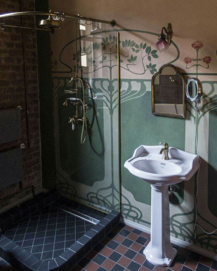 Bathroom Art Nouveau: Cozy Joyful Living In 2019