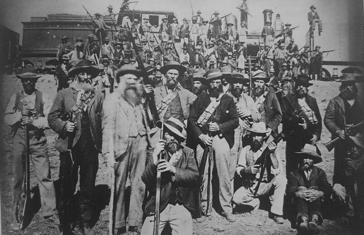 Die Kraaipan-kommando wat onder hulle genl.De la Rey en onder bevel van kapt.Nesbitt, die aand van die 12de Oktober 1899 die trein ontspoor het.