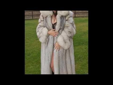 Woman In White Fox Fur Part 23