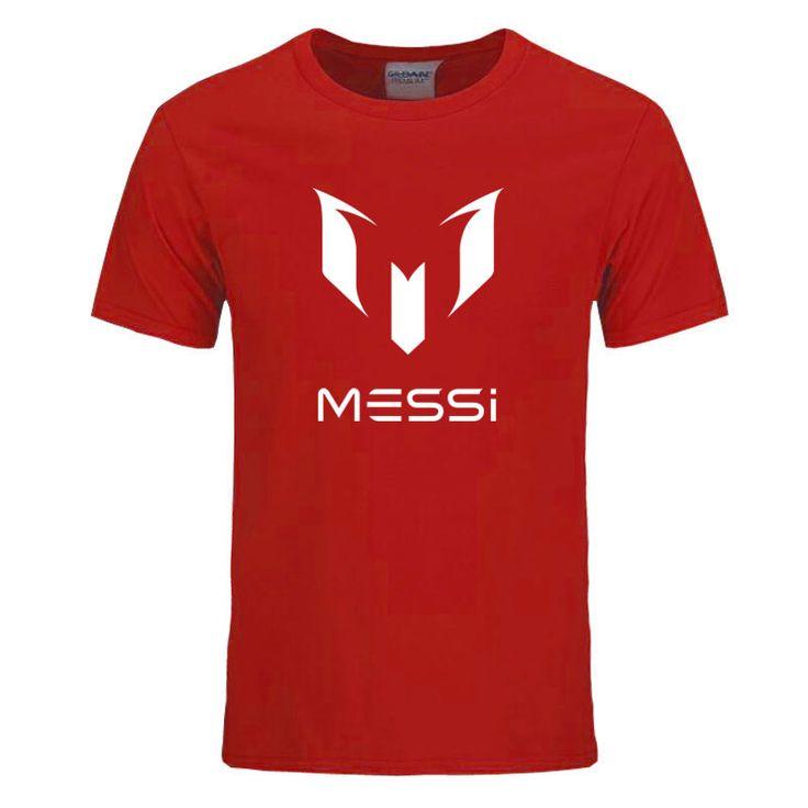 RUMEIAI 2017 summer Barcelona MESSI Men t shirt tops Man casual cotton short sleeve t shirts. Click visit to buy #T-Shirts