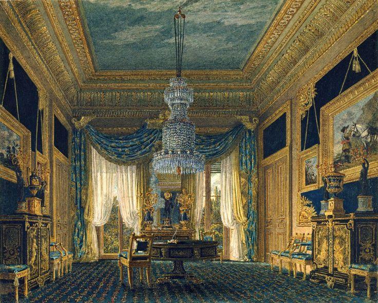 Charmant Carlton House: The Blue Velvet Closet. Wild. 1818