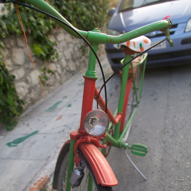 Bicycle in Zante Greece