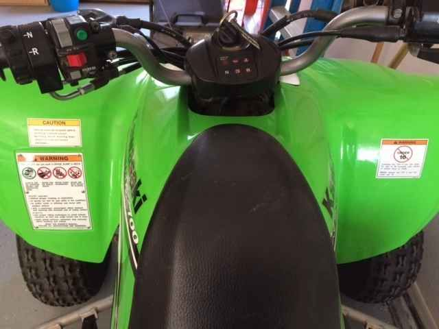 Used 2008 Kawasaki KFX 700 ATVs For Sale in Arizona. If you are looking for a tricked out customized ATV this is not for you. This is an adult one owner. Garaged all the time. Ridden perhaps 20 times with under 200 miles on it!! The only thing i have added is nerf bars, and a six pack rack. As you can see from the pics, plastics and overall appearance is VERY clean. Never dumped or crashed or tipped. Everything is in working order. Unit is serviced by the Honda Motorsports dealer where…