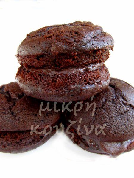 μικρή κουζίνα: Chocolate Whoopie pies