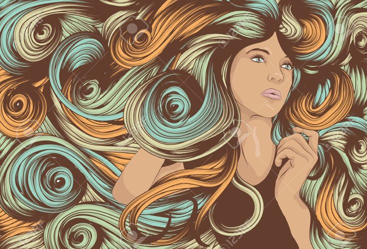 swirling hair - Google Search