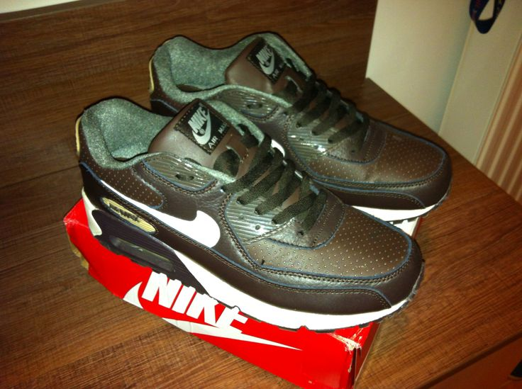 My new leather sneakers - Nike Air Max 90