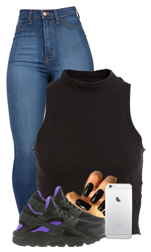 """""""Untitled #2444"""" by alisha-caprise ❤ liked on Polyvore featuring Bardot and NIKE"""