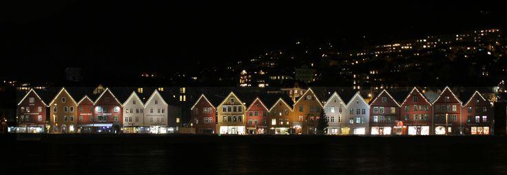 Brygga i Bergen