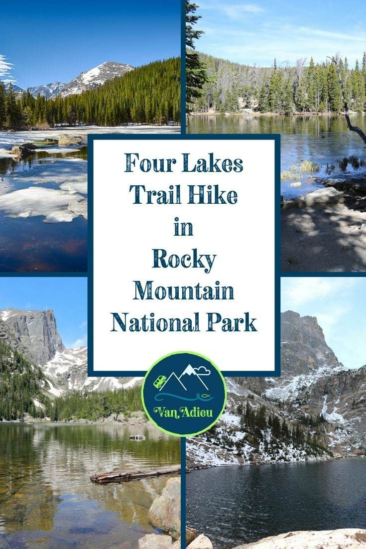 Four Lakes Trail Hike PERFECT Day Hike in Rocky Mountain National