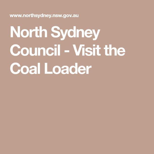 North Sydney Council - Visit the Coal Loader
