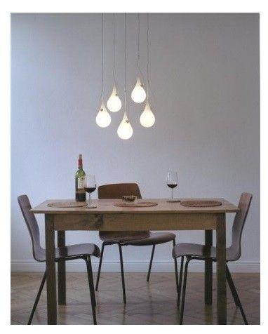 מנורת תלייה מעוצבת לפינת אוכל
