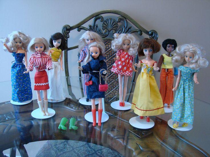 "Vintage MARY QUANT DAISY DOLL Model Toys Ltd. Hong Kong 9"" Original Clothes"