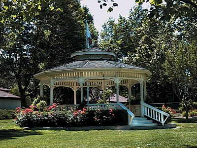 Almost in my own backyard. The Gazebo at Civic Park in Walnut Creek, California