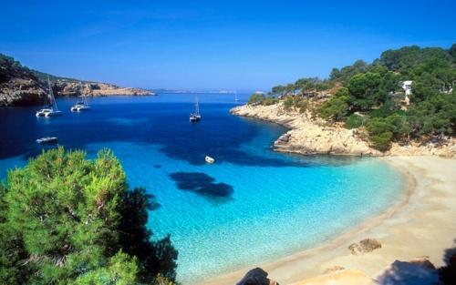 Ibiza, Playa Cala Salada, Spain