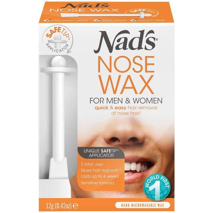 19.95 AUD Nad's Nose Wax Unique Safetip Applicator Hard