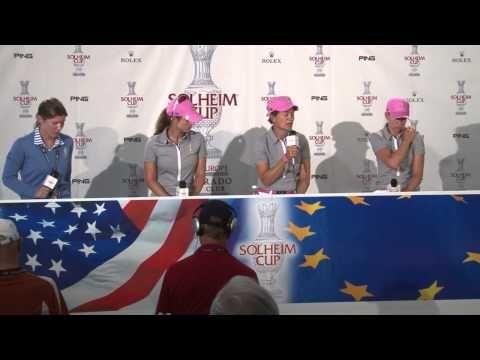 Catriona Matthew, Jodi Ewart and Beatriz Recari Pre-Tournament Interview...