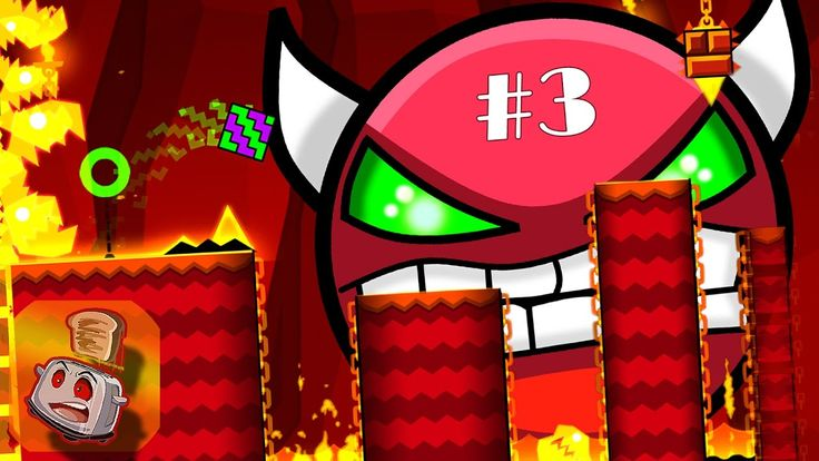 Geometry Dash (3) - STORY TIME ANGER!