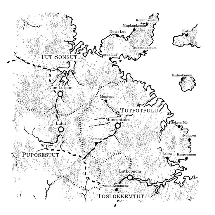 How the Twitter Account Uncharted Atlas Generates Detailed Fantasy Maps
