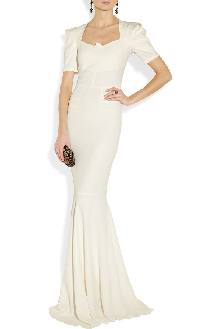 Roland Mouret | Jansen stretch-crepe gown | NET-A-PORTER.COM Ok I can't afford this-something similar?