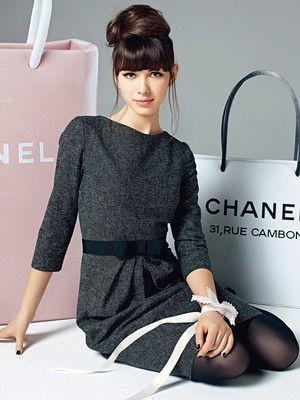Schnittmuster: Etuikleid mit Schleife - Kleider - Damen - burda style
