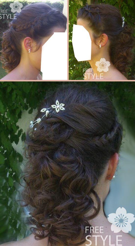"""Blog de alopecia femenina: Peinado de novia con postizo parcial para alopecia femenina: """"Sí quiero, pelo"""""""