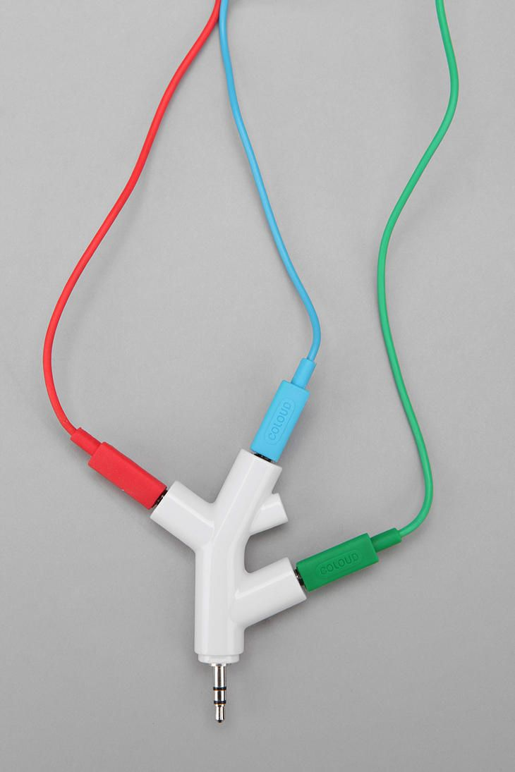 Music Branches Headphone Splitter.. no more sharing one set of headphones