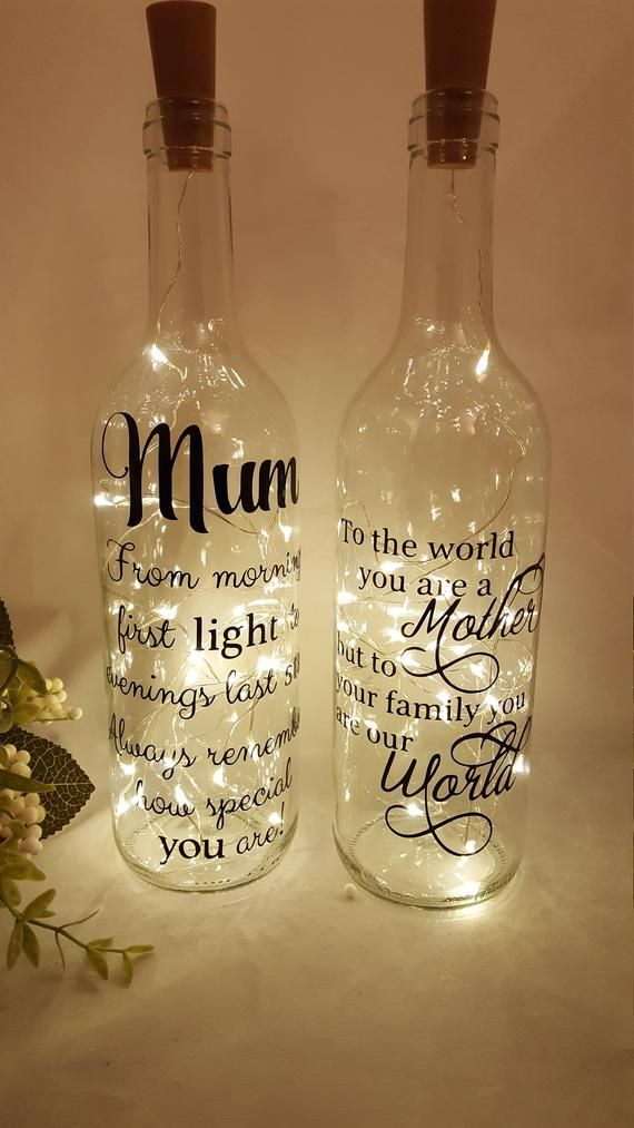 all occasion personal to you, Light up bottle Personalised Gift