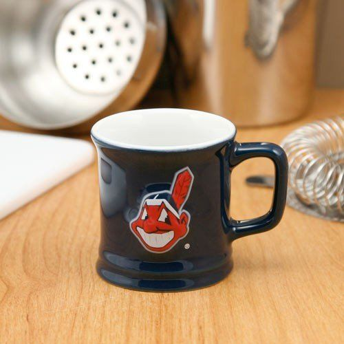 Cleveland Indians Navy Blue 2oz. Ceramic Sculpted Mug Shot Glass  //Price: $ & FREE Shipping //     #sports #sport #active #fit #football #soccer #basketball #ball #gametime   #fun #game #games #crowd #fans #play #playing #player #field #green #grass #score   #goal #action #kick #throw #pass #win #winning