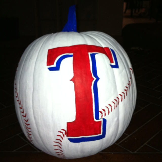 @Stephanie Riley  here's a pumpkin for you.....as long as the Cards win I'm sorry I won't be rooting for the Rangers this year!